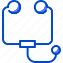 health, human, medic, medical, phonendoscope icon