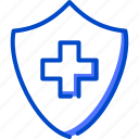 health, human, medic, medical, protection icon