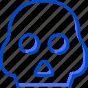 health, human, medic, medical, skull icon