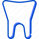 health, human, medic, medical, tooth icon