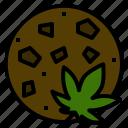 cannabis, cookies, marijuana, medical, useage