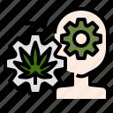 alert, cannabis, creative, energy, marijuana, sativa icon