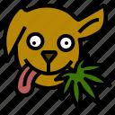 animal, cannabis, dog, good, marijuana, treat, weed icon