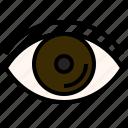 eye, glaucoma, marijuana, medical, sight, vision icon