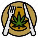 cook, food, marijuana, meal, recipes, weed icon
