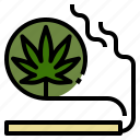 cannabis, marijuana, medical, problem, sleeping, smoking, weed icon