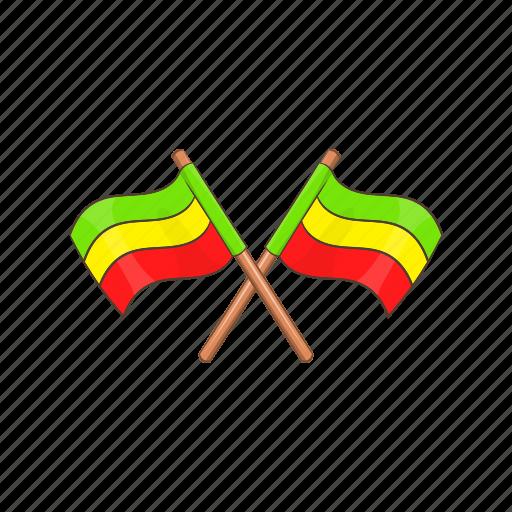 Cartoon, culture, flag, jamaica, lion, rasta, rastafarian icon - Download on Iconfinder