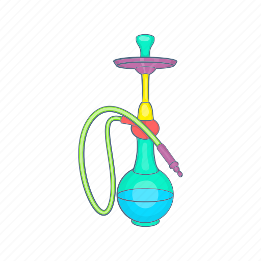 arabic, cartoon, hookah, relaxation, smoke, tobacco, turkish icon