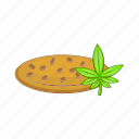 cartoon, drug, hemp, marijuana, medicine, natural, seed icon