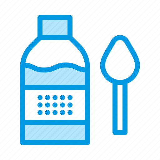bottle, cough, flask, syrup icon