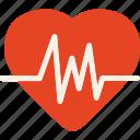 cardiogram, electrocardiogram, heartbeat, pulsation, lifeline, healthcare