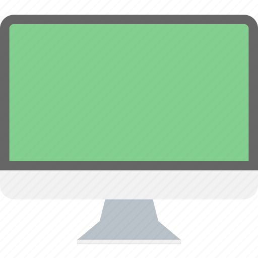computer, desktop, device, display, hardware, monitor, pc icon