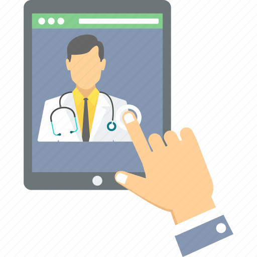 app, contact, doctor, healthcare, hospital, live chat, medical icon