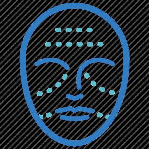 cosmetic, face, face tite, facial, lift, skin care, surgery icon