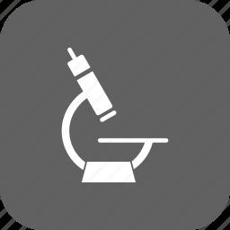 experiment, laboratory, microscope, research icon