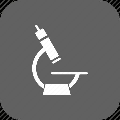 laboratory, microscope, research icon