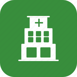 clinic, hospital, hospital building icon