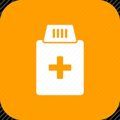 bottle, care, drugs, healthcare, medical, medicine, pills icon