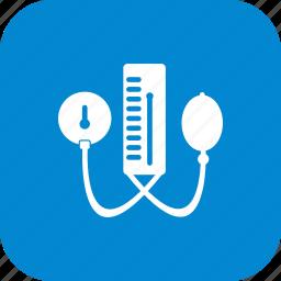 blood pressure machine, bp apparatus icon