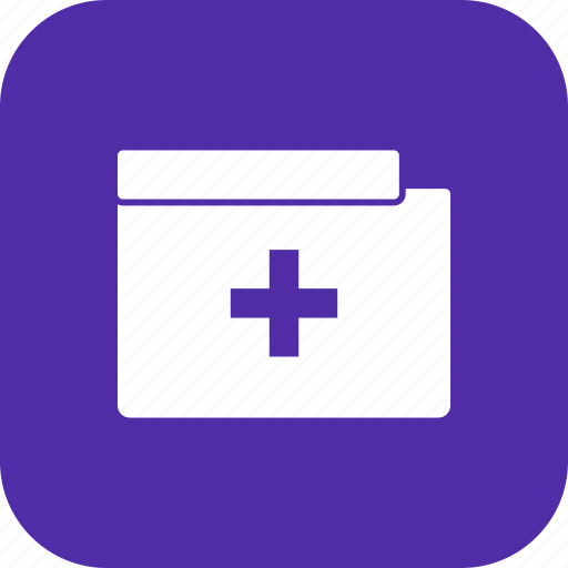folder, medical document, medical file, medical folder icon