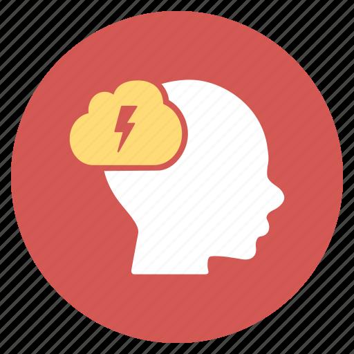 brain storm, brainstorm, idea, knowledge, mind, problem, solution icon