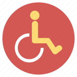 disability, disabled person, handicap, patient, seat, wheel chair, wheelchair icon