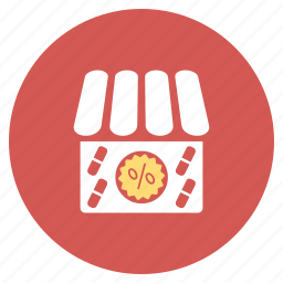 apothecary, discount, drug shop, drugstore, medical store, sale off, special offer icon