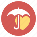 guard, health, heart protection, love, safe, safety, shield icon