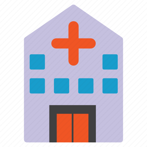 ambulance, building, clinic, emergency, hospital, medical, office icon