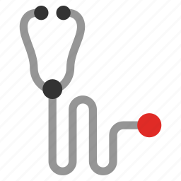 ambulance, doctor gadget, health, instrument, medical, physician accesories, stethoscope icon