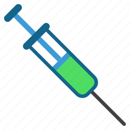 drugs, injection, medical treatment, syringe, vaccination, vaccinations, vaccine icon
