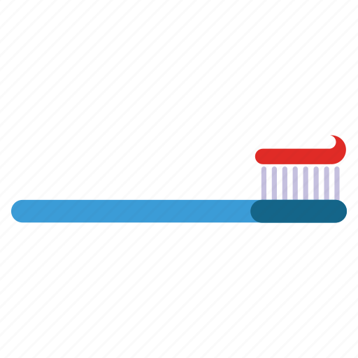 dental, dentistry, healthcare, hygiene, stomatology, tooth paste, toothbrush icon