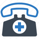 appointment, call doctor, medical assistance, medical help icon