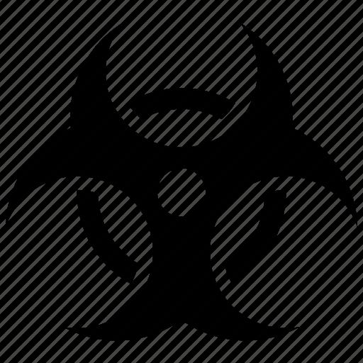 biological hazard, danger, health risk icon