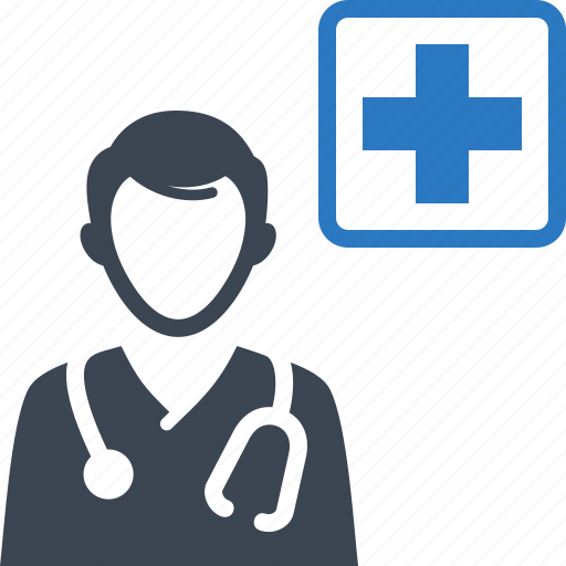 ask a doctor, doctor consultation, medical assistance icon