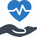 heart care, heart disease, heart health icon