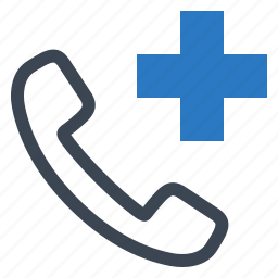 call doctor, medical aid, medical help, medical question icon