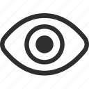 25px, eye, iconspace icon