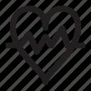 cardiogram, healthcare, heartratemedical icon