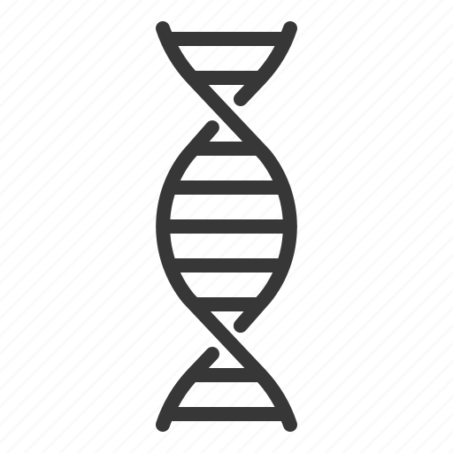 chromosome, dna, hospital, medical, rna icon