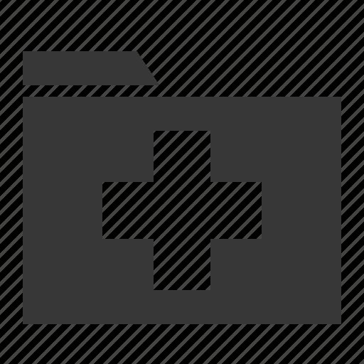 data, file, folder, hospital, information, medical icon