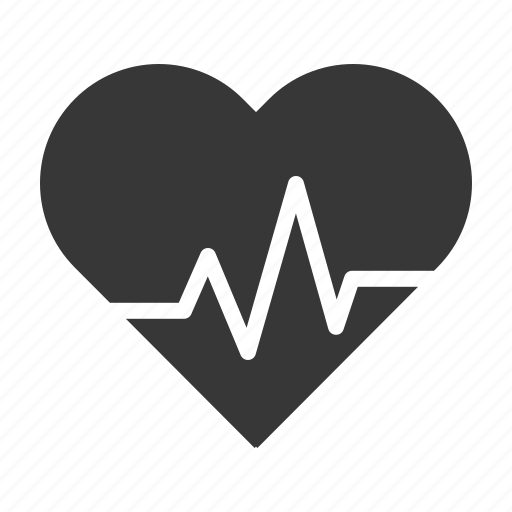 healthcare, heart, heart rate, heart signal, hospital, medical icon