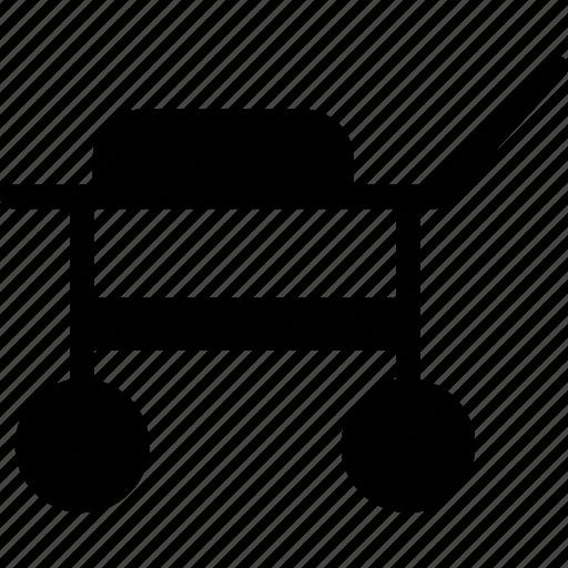 cart, medical, trolley icon