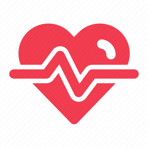 cardiogram, care, emergency, health, heart, life, medical icon