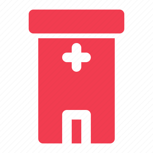 building, care, emergency, health, hospital, medical icon