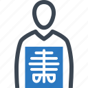 human body, patient, radiology, x-ray icon