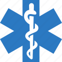 emergency, medicine icon