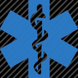 emergency, medicine icon