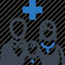 family medicine, health insurcance, healthcare icon