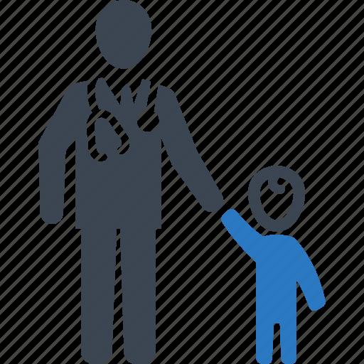 child care, doctor, family medicine, pediatrics icon